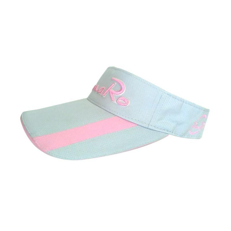 ROMARO Visor GREY/OR Grey Pink Topi Golf