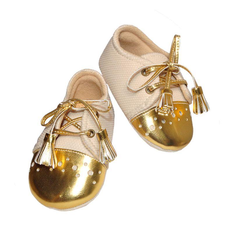 Eyka Tali Gold Baby Sepatu Bayi