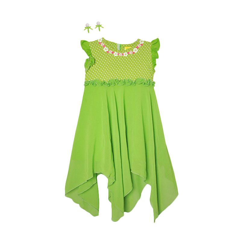 Eyka Tinkerbell Toddler Dress Anak