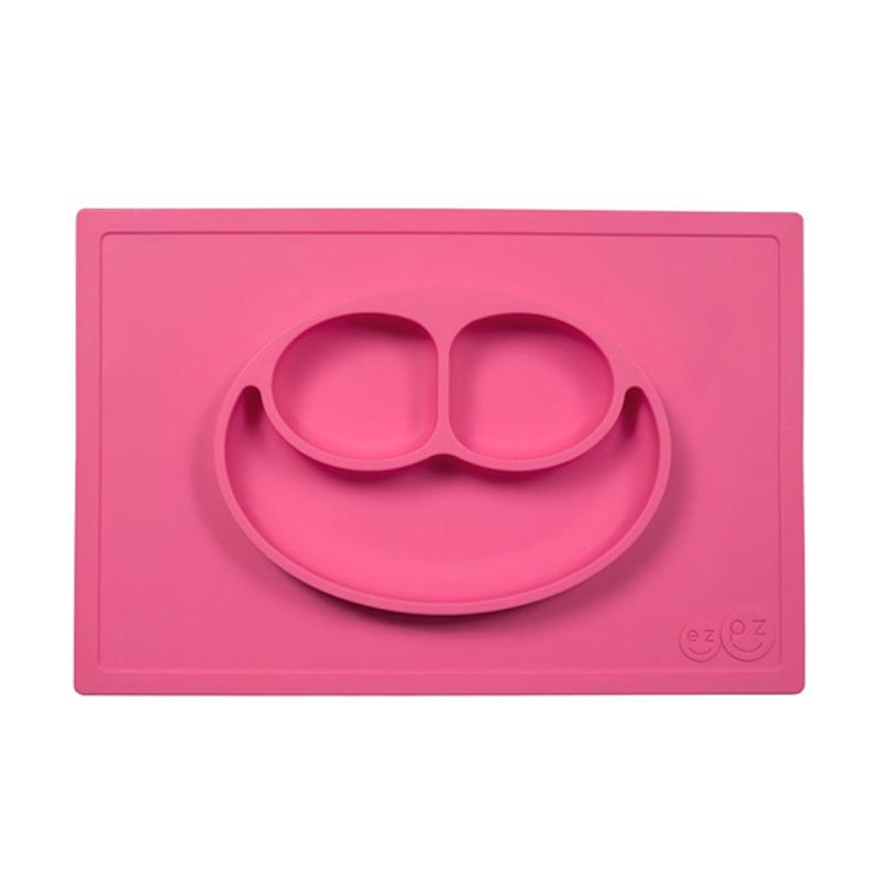 Ezpz Happy Mat in Alat Makan Bayi - Pink