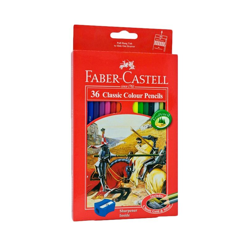 Faber-Castell 115856 Classic Colour Pencils 36 [Large]