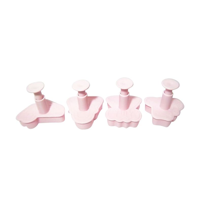 Zenker 4 Cookie Presser Girlish Shape Set Alat Dekorasi Kue