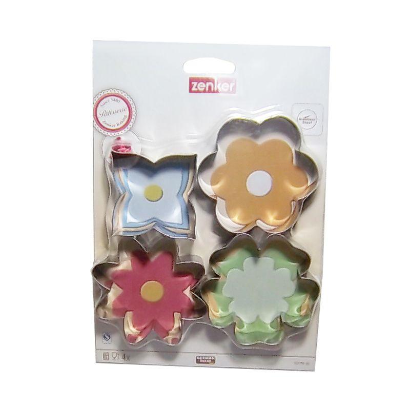Zenker 4 Ramadhan Cookie Cutter Set Alat Dekorasi Kue