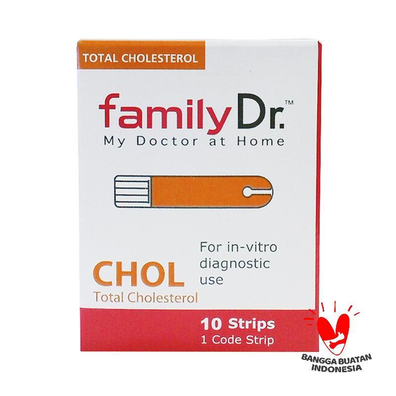 Family Dr Strip Tes Kolesterol [10 Strip]
