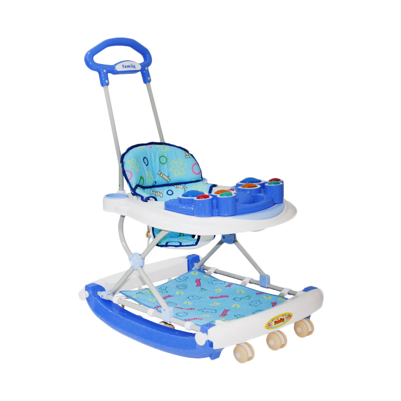 harga Daily Deals - Family Drum Stick FB 218 A Baby Walker - Biru Blibli.com
