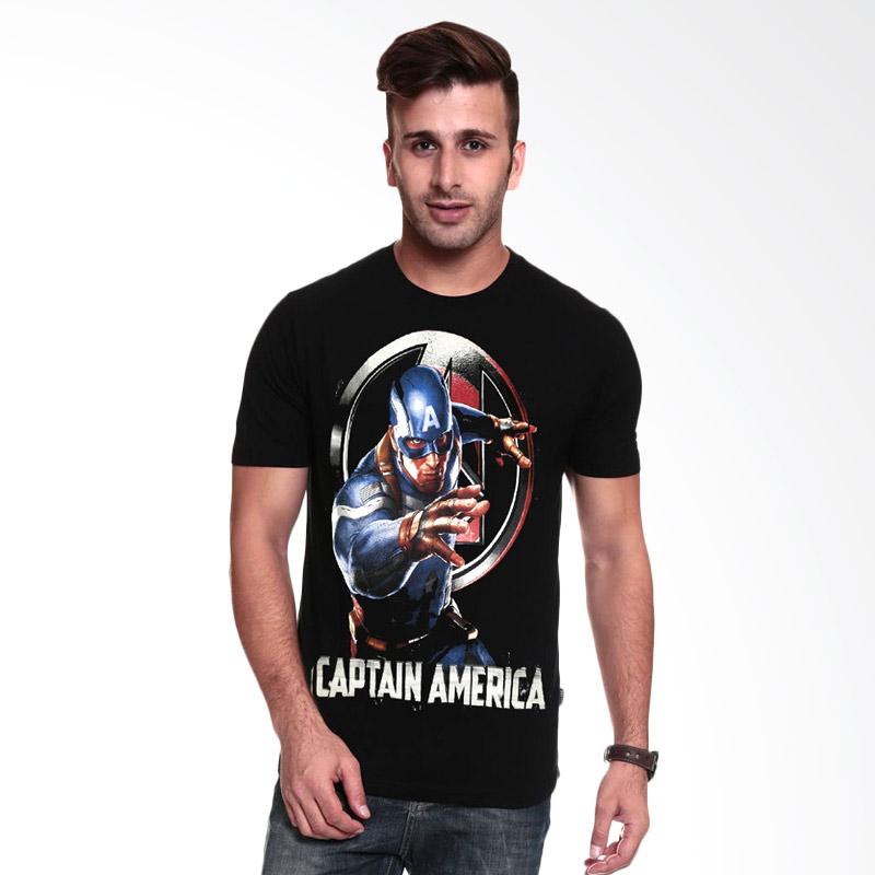 Fantasia Captain America Avengers Assemble T-Shirt Pria - Hitam Extra diskon 7% setiap hari Extra diskon 5% setiap hari Citibank – lebih hemat 10%
