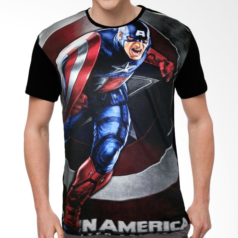 Fantasia Captain America First Avengers T-Shirt Pria Extra diskon 7% setiap hari Extra diskon 5% setiap hari Citibank – lebih hemat 10%