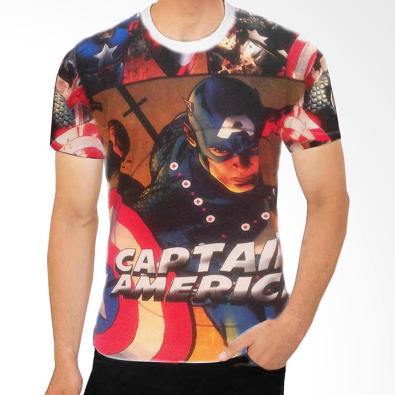Fantasia Comic Captain America Civil War T-Shirt Pria Extra diskon 7% setiap hari Extra diskon 5% setiap hari Citibank – lebih hemat 10%