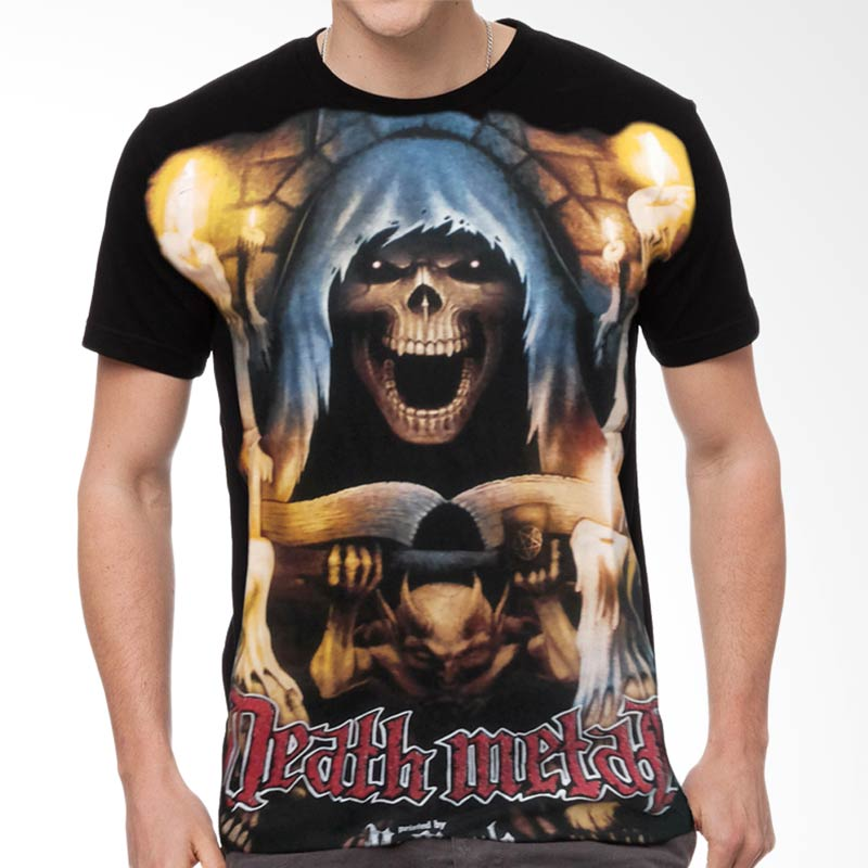 Fantasia Death Metal T-Shirt Pria Extra diskon 7% setiap hari Extra diskon 5% setiap hari Citibank – lebih hemat 10%
