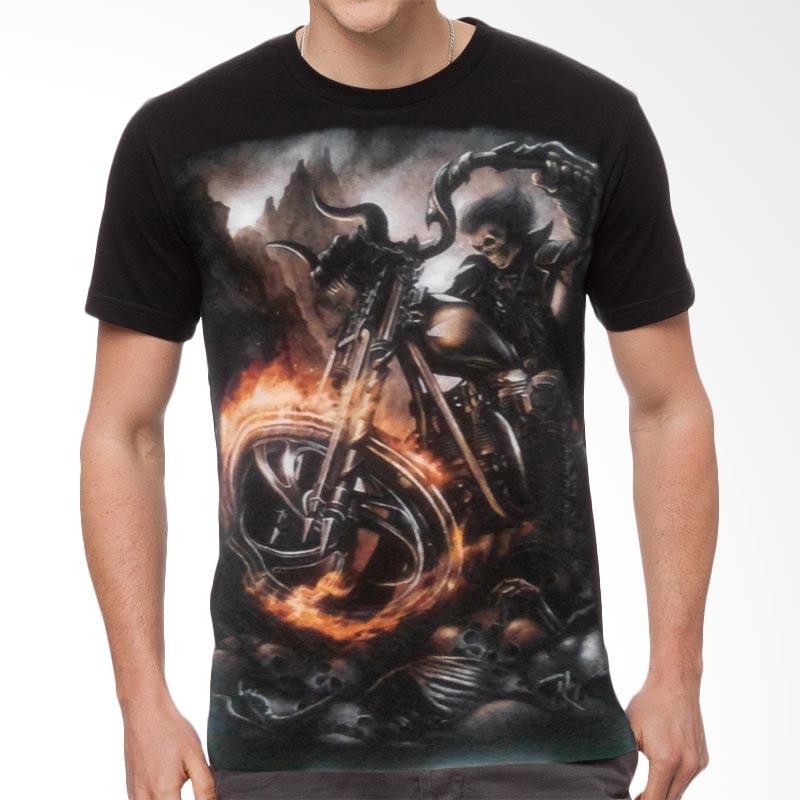 Fantasia Ghost Rider Origin T-Shirt Pria Extra diskon 7% setiap hari Extra diskon 5% setiap hari