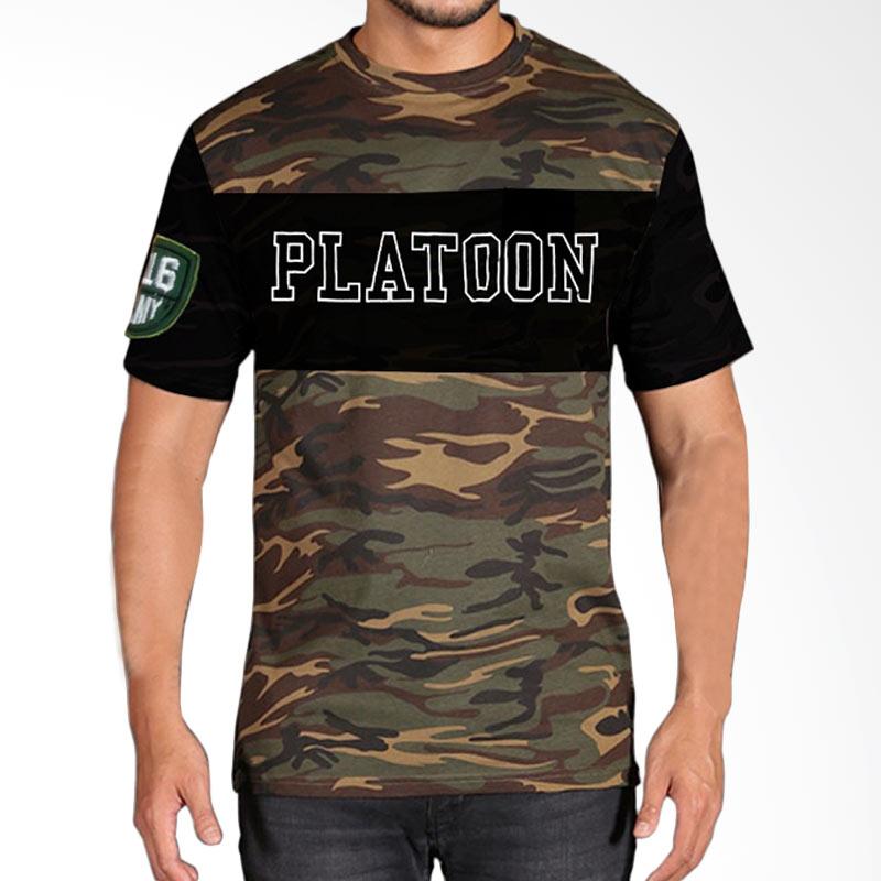 Fantasia Platoon Military Camouflage T-Shirt Pria Extra diskon 7% setiap hari Extra diskon 5% setiap hari Citibank – lebih hemat 10%