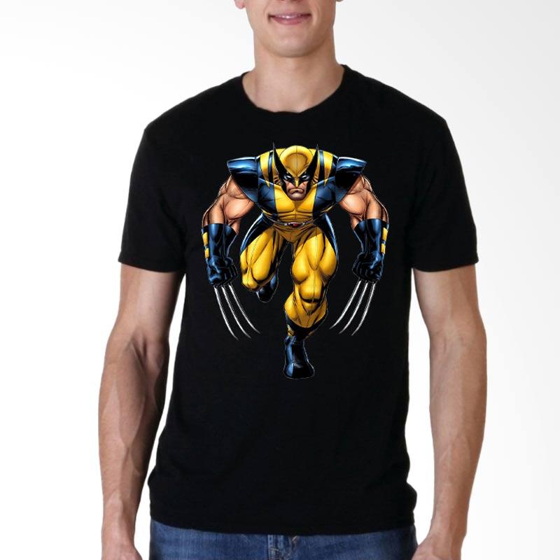 Fantasia Wolverine Berserker Rage T-Shirt Pria - Hitam Extra diskon 7% setiap hari Extra diskon 5% setiap hari Citibank – lebih hemat 10%