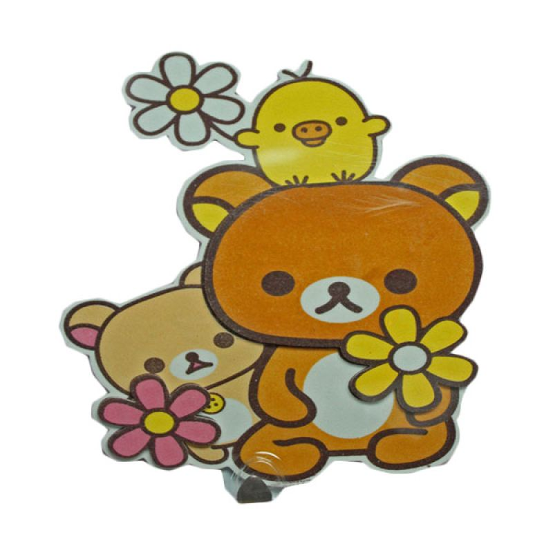 Crystal 3D Rilakuma Wall Sticker