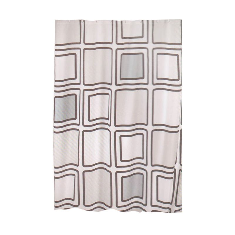 Crystal Polyester Shower Curtain New Sigil Tirai Kamar Mandi