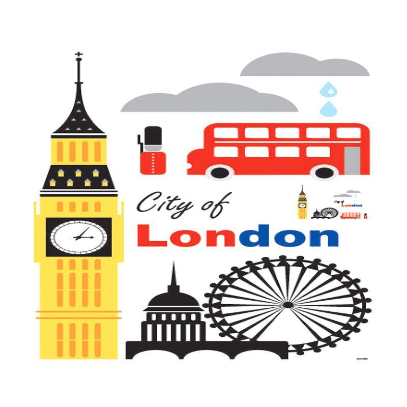 Crystal SAN London Wall Sticker