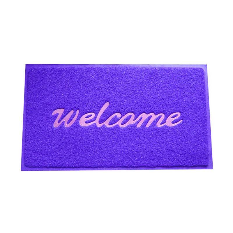 Fantasy Welcome Blue Doormat [40X60 cm]