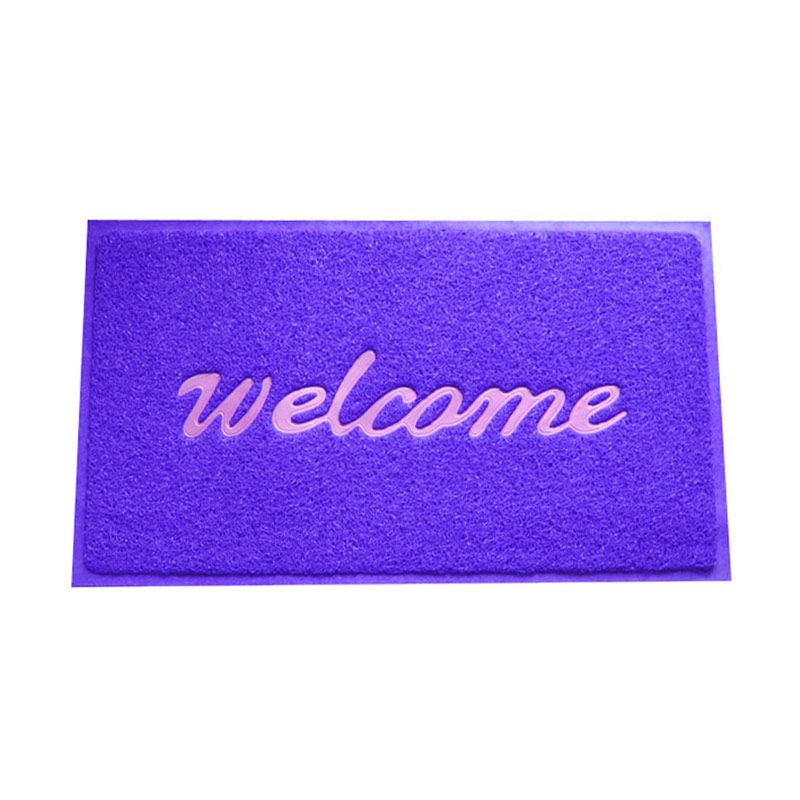 Fantasy Welcome Blue Doormat [45X75 cm]