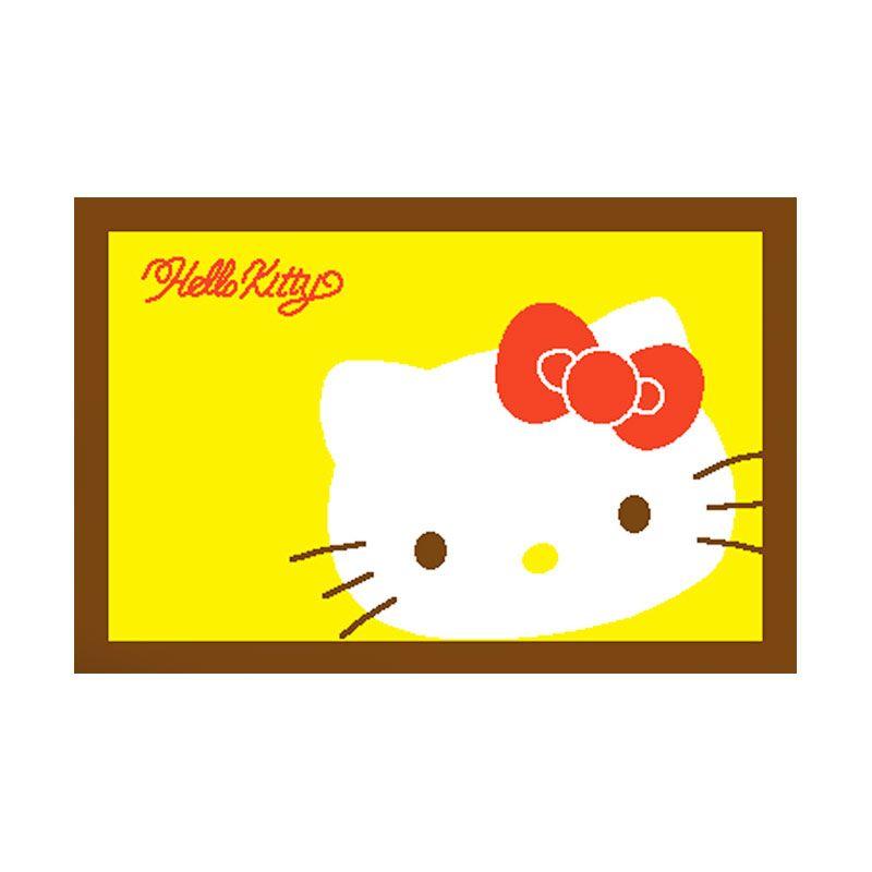 Sanrio Printing Mat Kitty Face