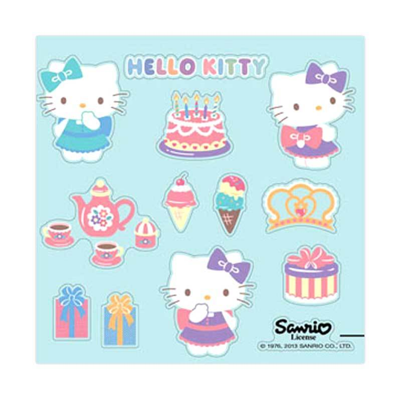 Sanrio Wall Sticker Kitty Party