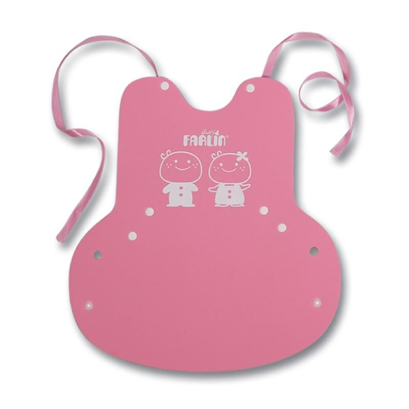 Farlin Baby Eva Bib 1 Pink