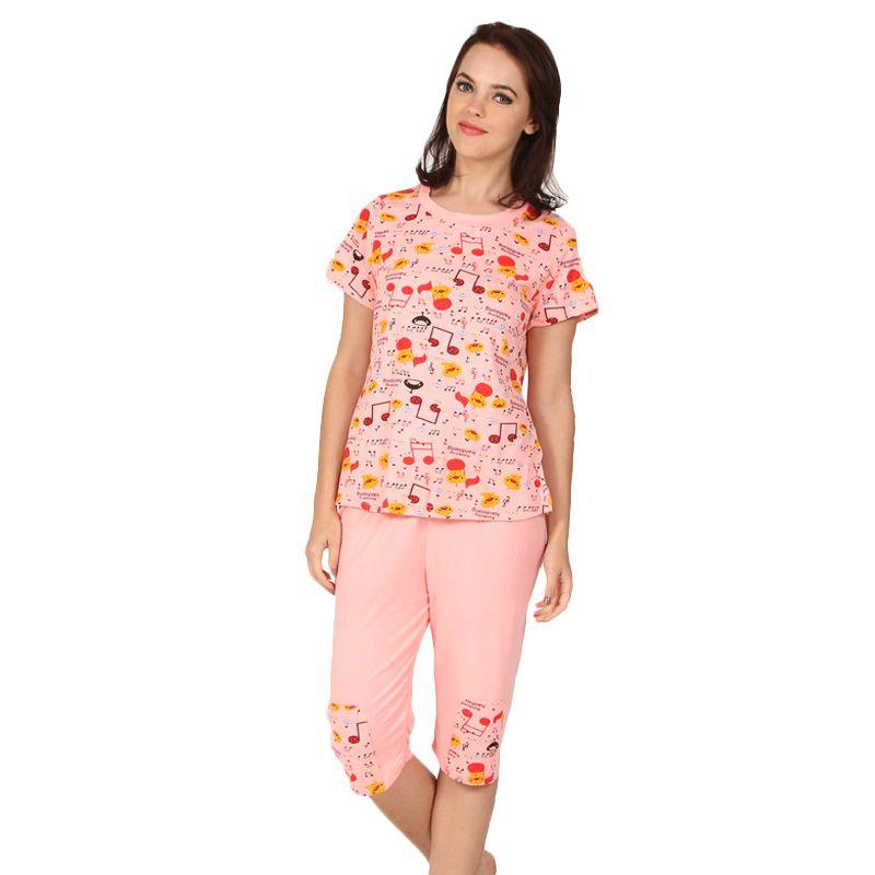You've Kenko Sleepwear Set Pink Baju Tidur