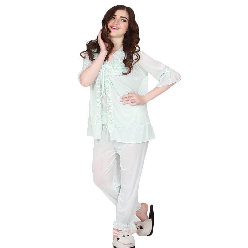 You've - Aleana Lace Sleepwear Set Mint