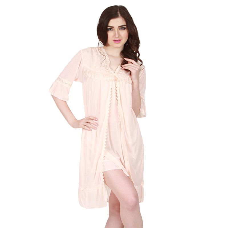 You've- Andrea Lace Sleepwear Cream