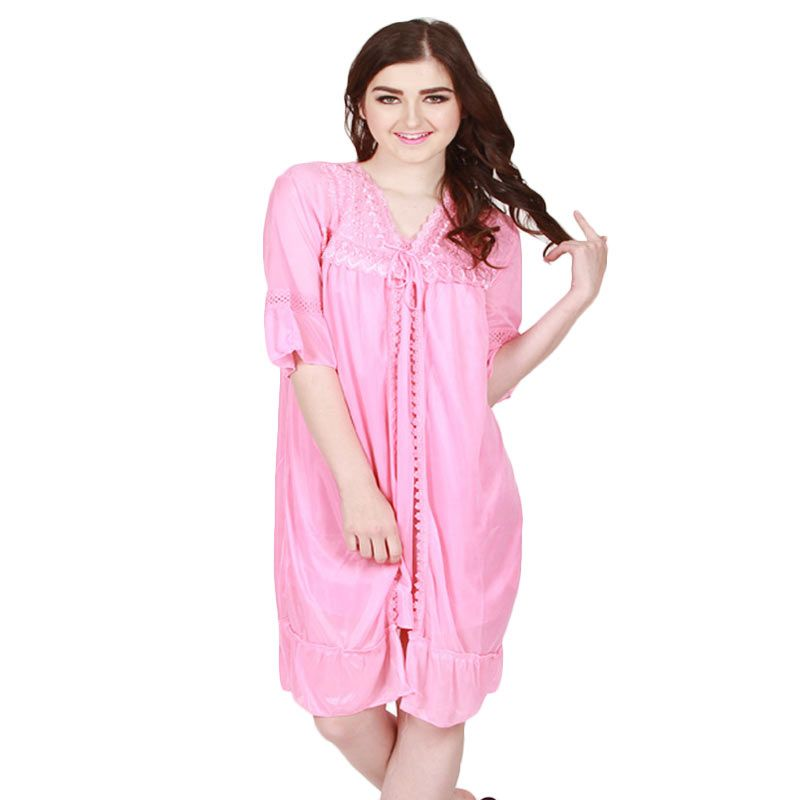 You've - Andrea Lace Sleepwear Pink