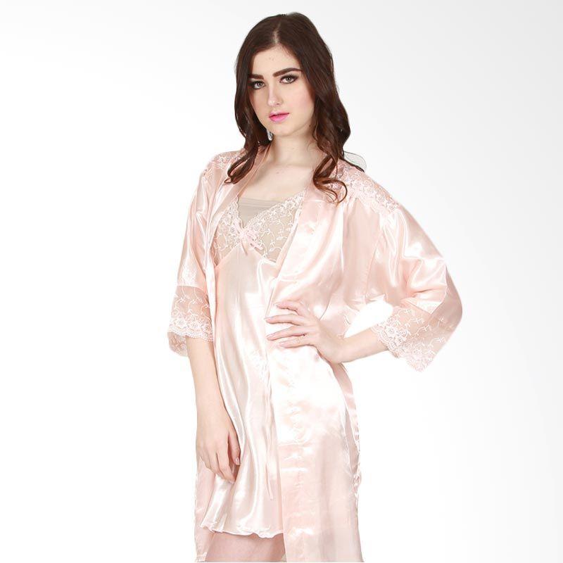 You've Maure Kimono Peach Baju Tidur Wanita