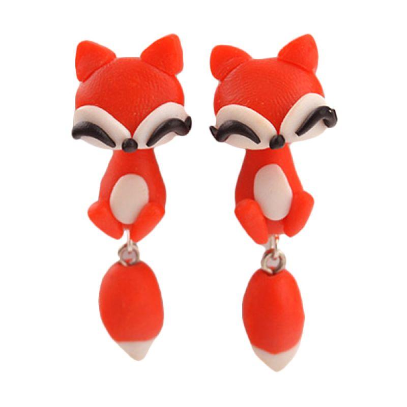 Fashionista Clay Cute Fox KE50759 Red Anting