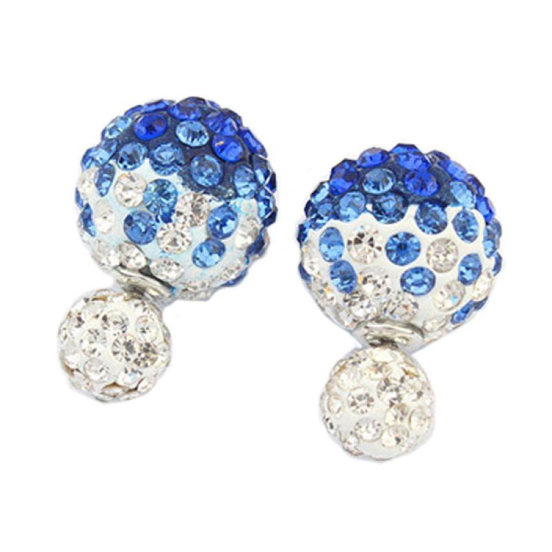 Fashionista Dior Diamond KE53480 White Blue Anting