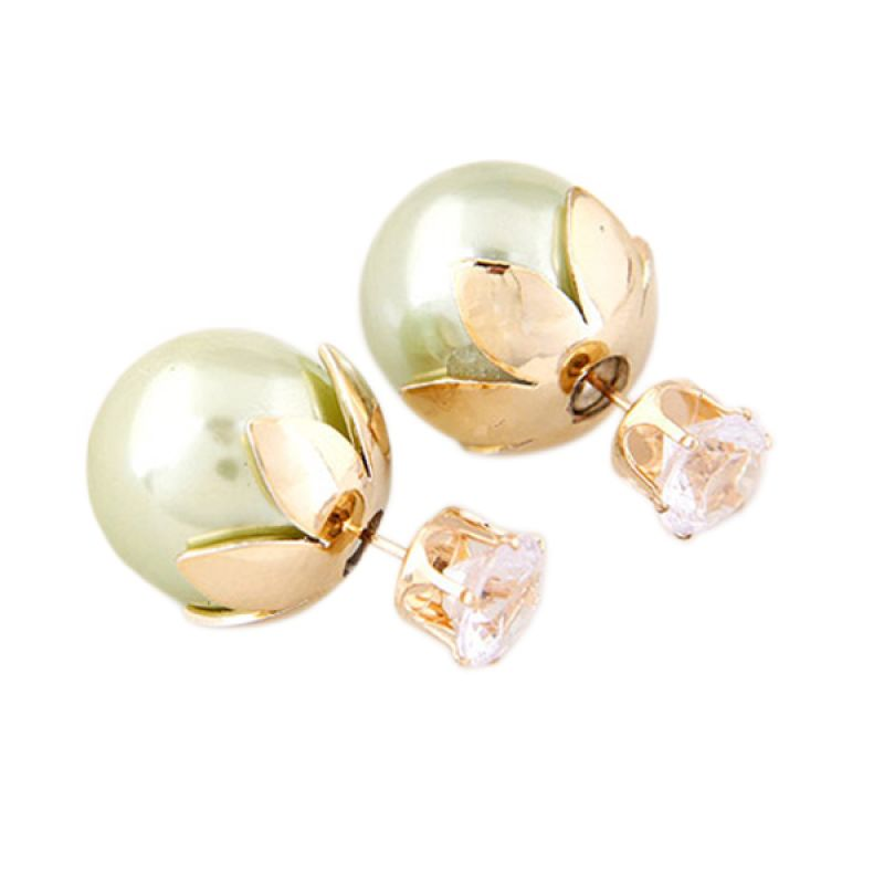 Fashionista Dior Flower Crown KE37370 Green Anting