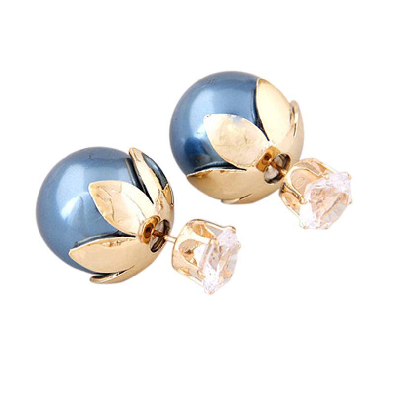 Fashionista Dior Flower Crown KE37372 Blue Anting