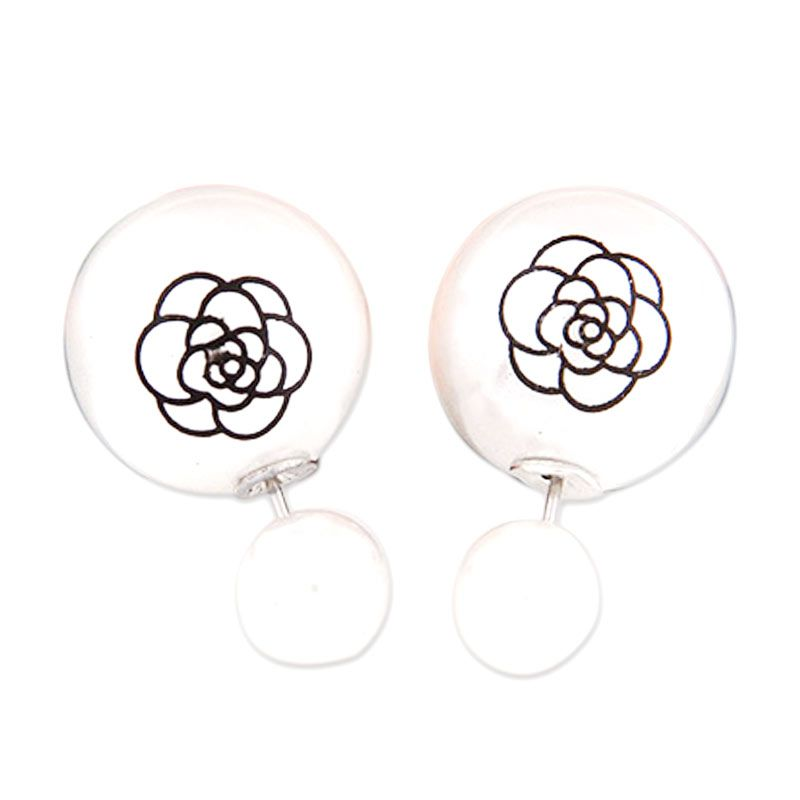 Fashionista Dior Rose KE37423 White Anting