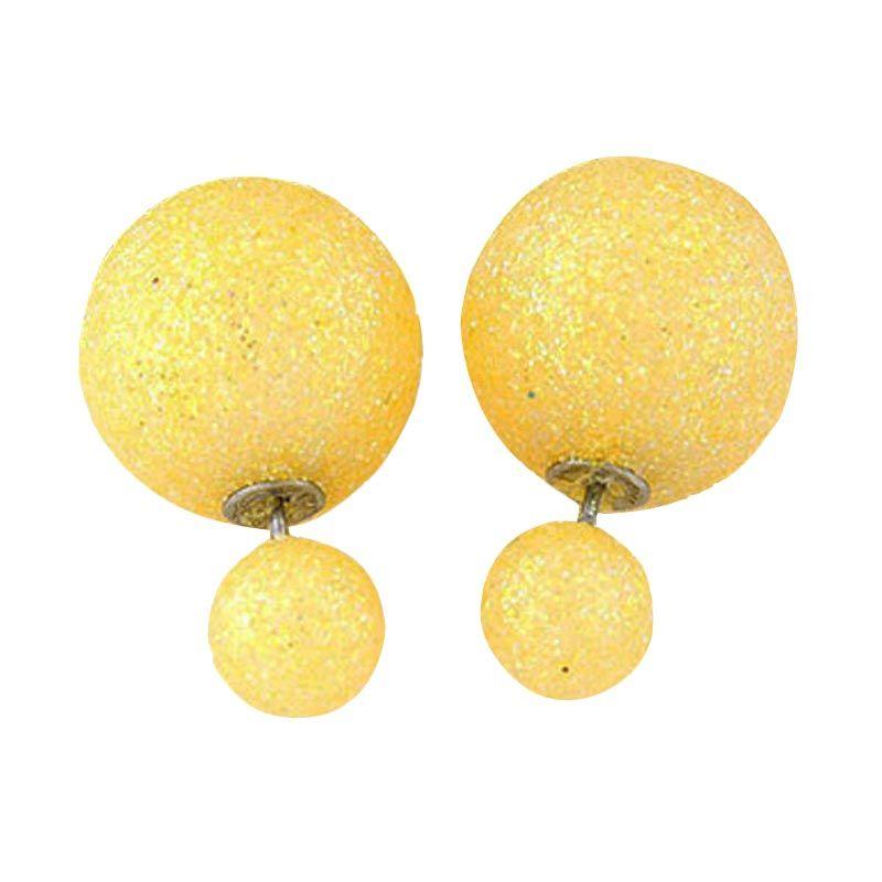 Fashionista Dior KE37465 Yellow Beads Anting