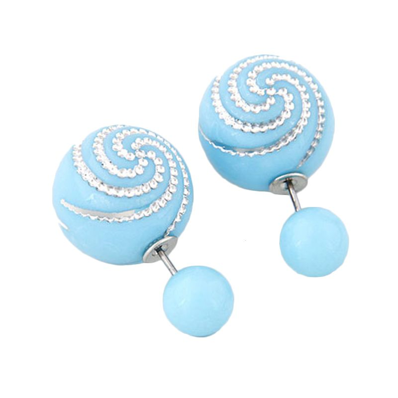 Fashionista Dior Spiral KE38608 Light Blue Anting