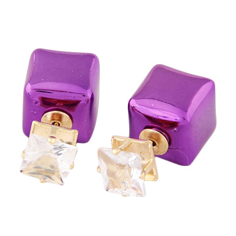 Fashionista Dior Square KE38295 Purple Anting