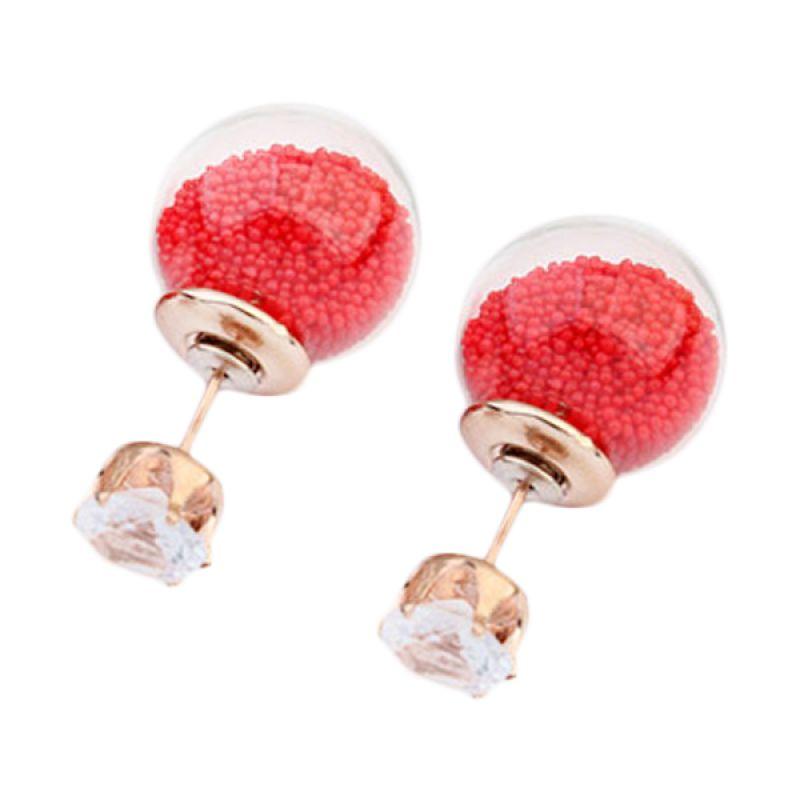 Fashionista Dior Sweet Beads KE54033 Red Anting