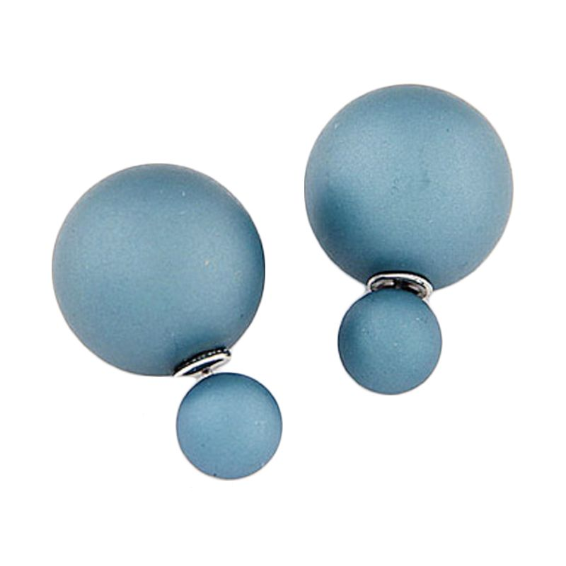 Fashionista KE36735 Korea Dior Blue Doff Anting