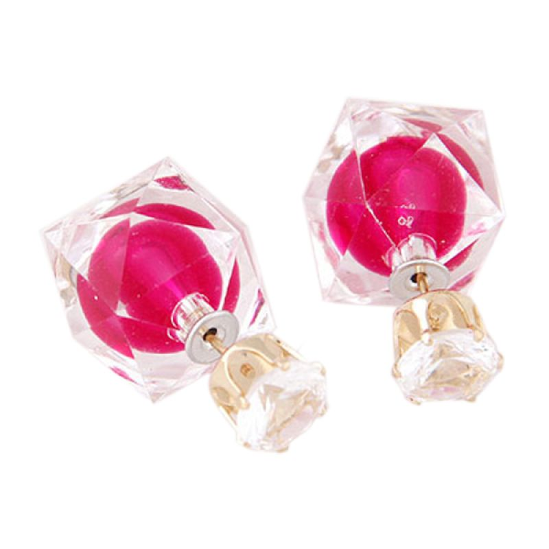 Fashionista KE38623 Dior Electric Plum Red Anting