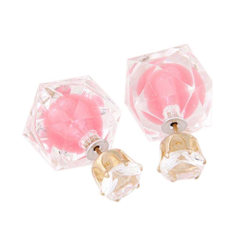Fashionista KE38629 Dior Electric Pink Anting