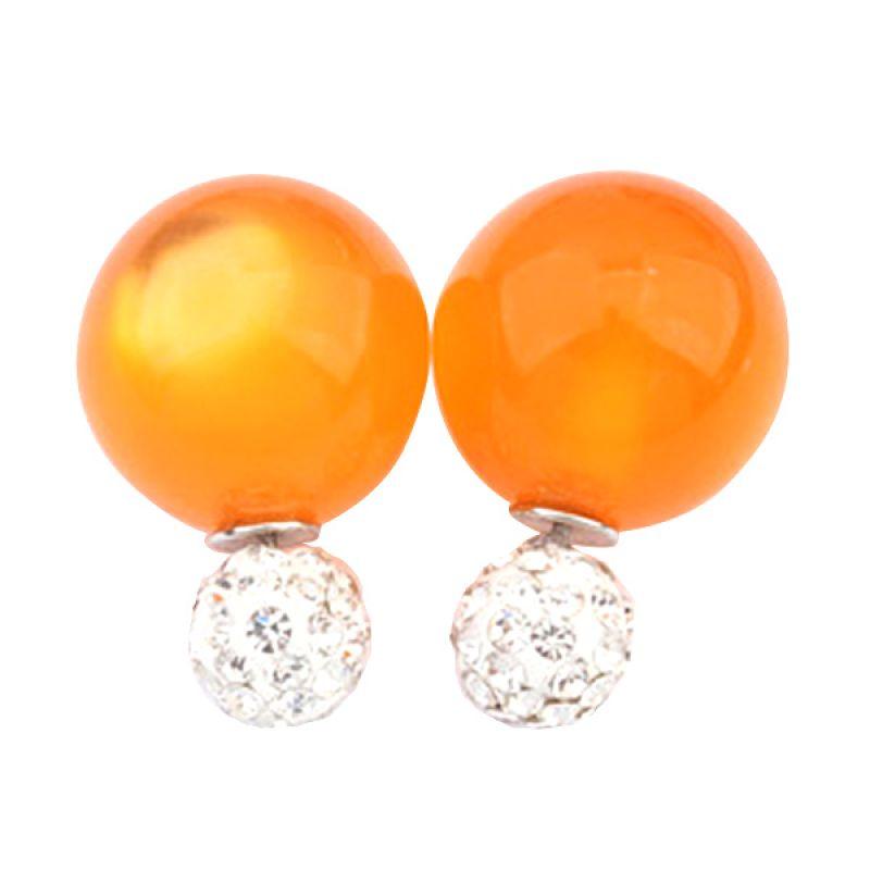 Fashionista KE53585 Dior Candy Diamond Orange Anting