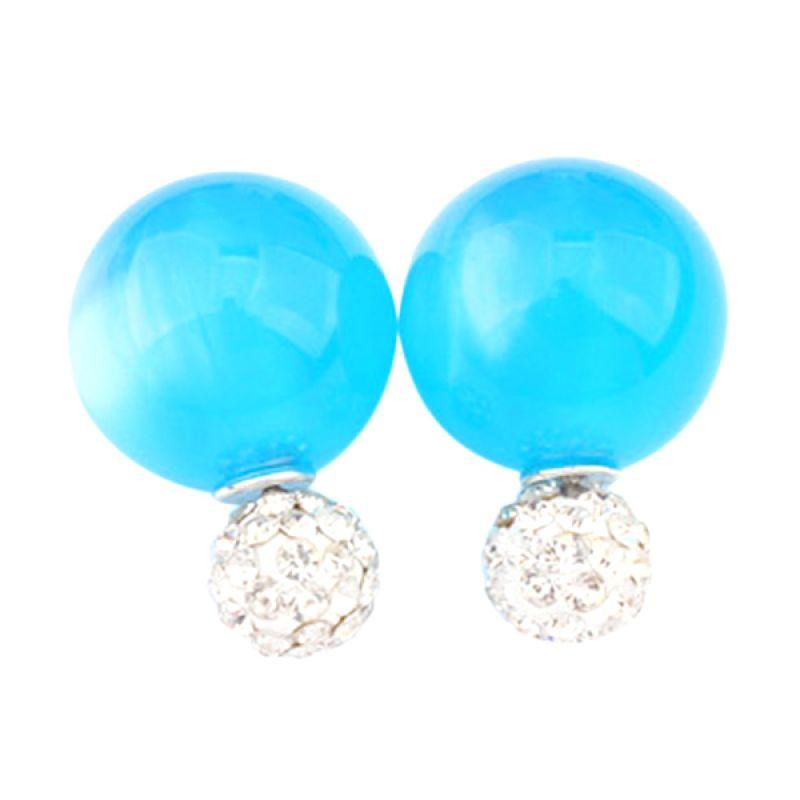 Fashionista KE53589 Dior Candy Diamond Tosca Blue Anting