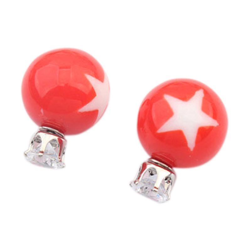Fashionista KE53783 Dior Star Pattern Red Anting
