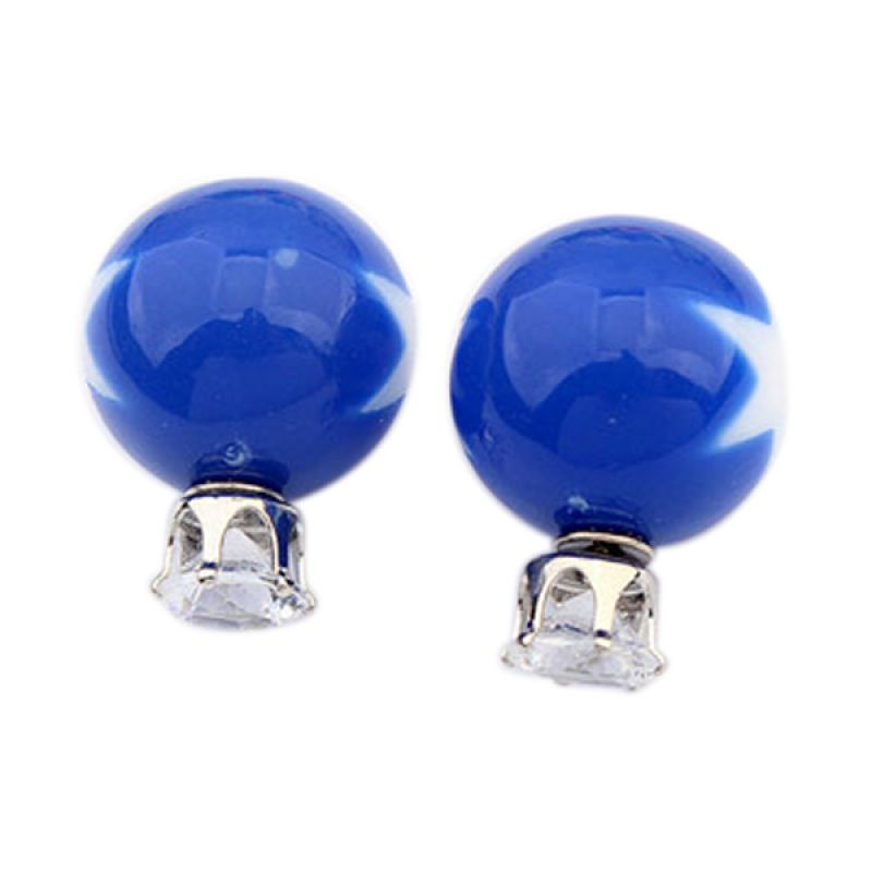 Fashionista KE53784 Dior Star Pattern Dark Blue Anting