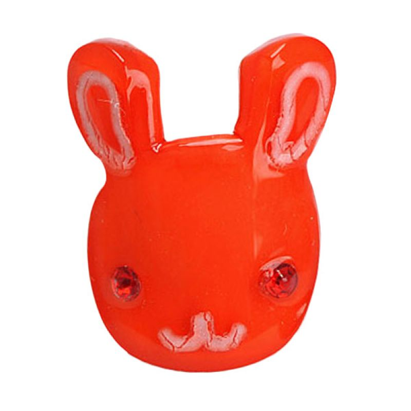 Fashionista KHA17331 Rabbit Red Hairclip