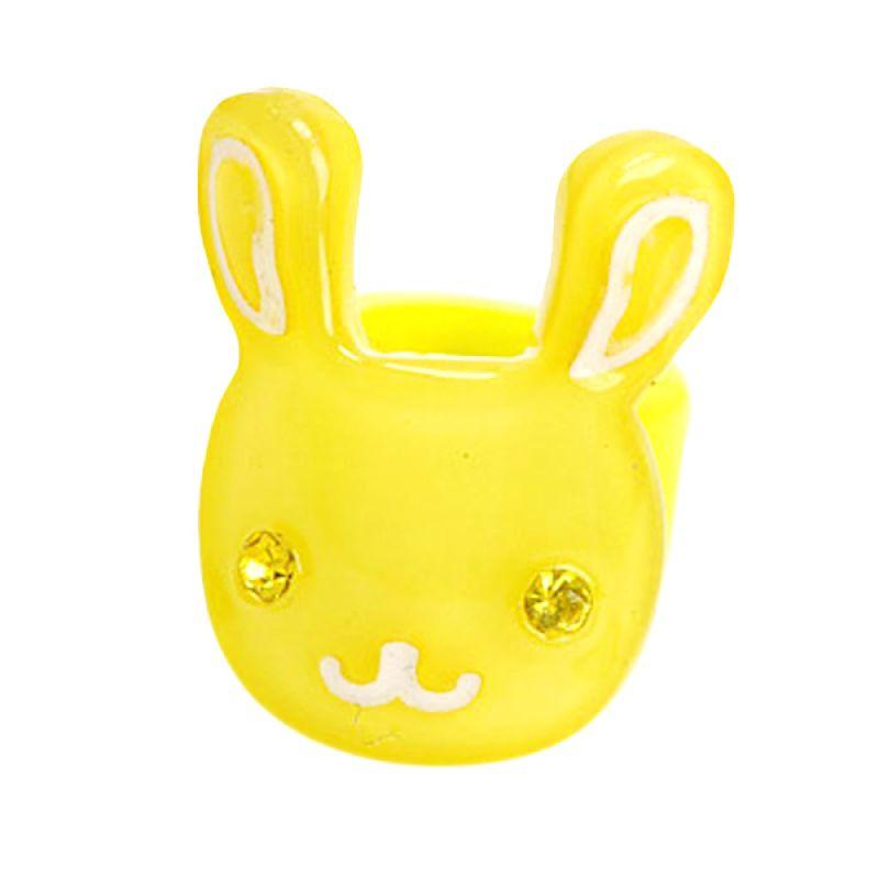 Fashionista KHA17332 Rabbit Yellow Hairclip