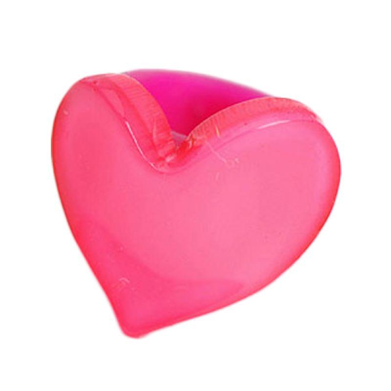 Fashionista KHA17335 Heart Plum Red Jepit Rambut