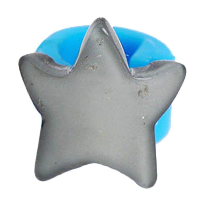 Fashionista KHA17338 Star Blue Grey Hairclip