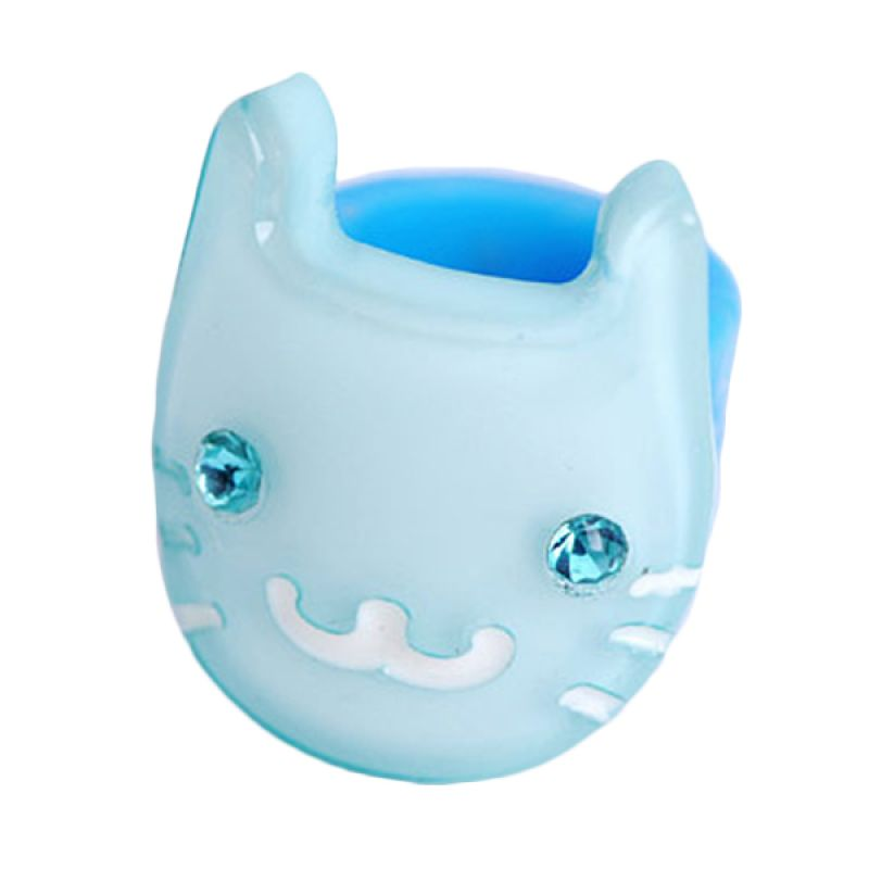 Fashionista KHA17383 Cat Blue Hairclip